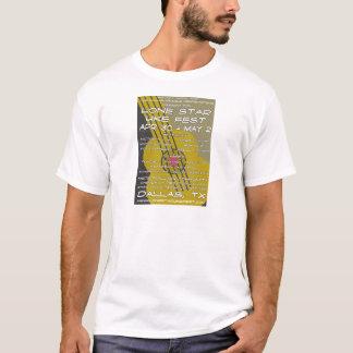 T-shirt Art solitaire d'affiche de Fest d'Uke d'étoile
