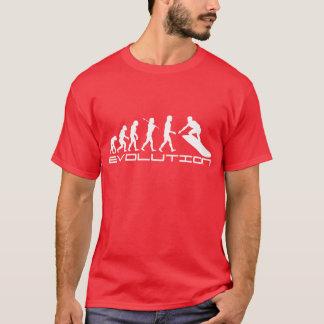 T-shirt Art surfant d'évolution de sport de surfer