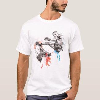 T-shirt Art thaïlandais/peinture de boxe