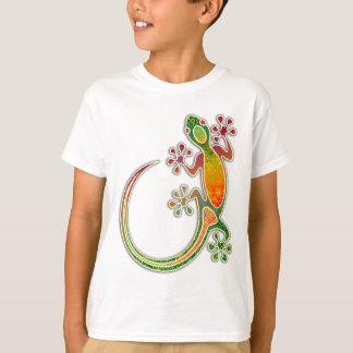T-shirt Art tribal floral de Gecko