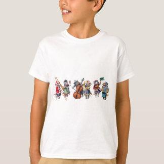 T-shirt Arthur Thiele - orchestre de jeu de chats dans la