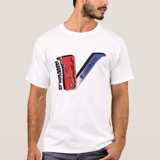 T-shirt Article 5-Red, blanc, bleu