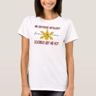 T-shirt Artillerie chaude de défense aérien