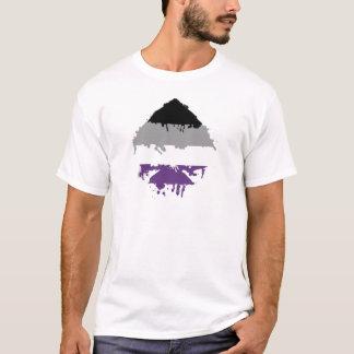 T-shirt As asexuel de Paintdrip