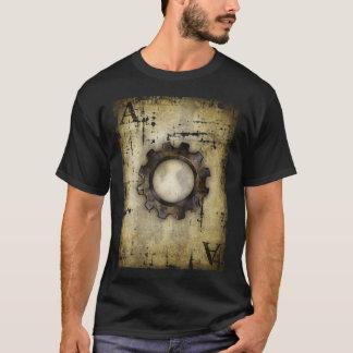 T-shirt as de roue dentée