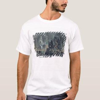 T-shirt Assemblée des maçons libres avant l'initiation d'a