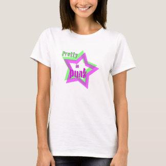 T-shirt Assez dans le punk