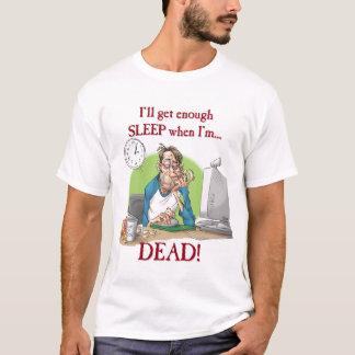 T-shirt Assez dorment
