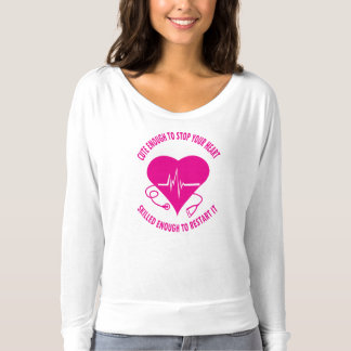 T-shirt Assez mignonne infirmière