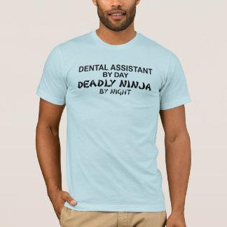 T-shirt Assistant dentaire Ninja mortel