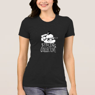 T-shirt association collective de ficelle