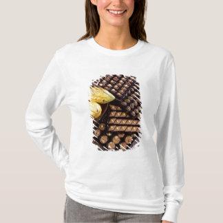 T-shirt Assortiment de chocolat pour Noël pour l'usage