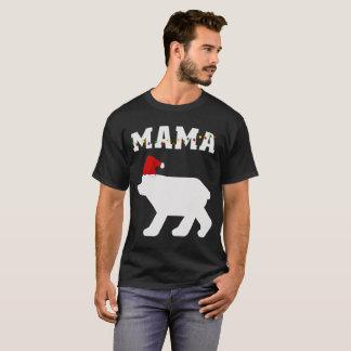 T-shirt Assortiment de pyjama de Noël de maman Bear With