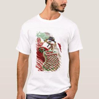 T-shirt assortiment des biscuits de fête de vacances
