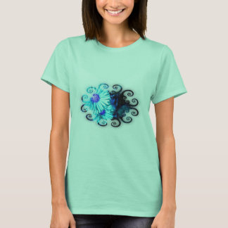 T-shirt Asters Swirl