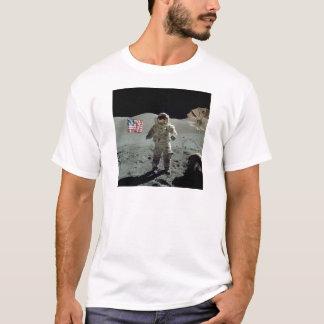 T-shirt Astronaute d'Apollo 17 dans la vallée de Littrow