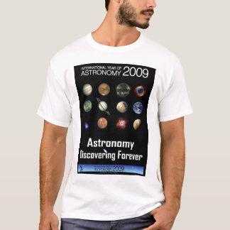 T-shirt Astronomie 2009