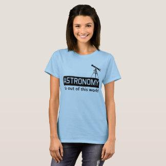 T-shirt Astronomie il est hors de ce monde