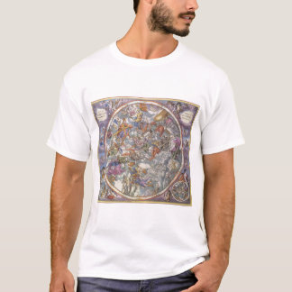 T-shirt Astronomie vintage, carte des constellations