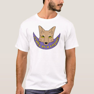 T-shirt astucieux comme coyote