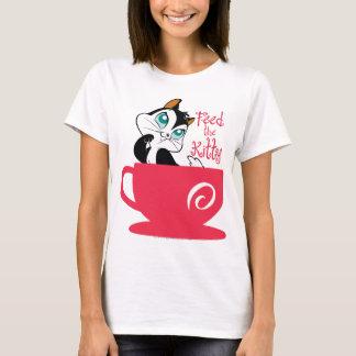 T-shirt Atermoyez l'alimentation Kitty