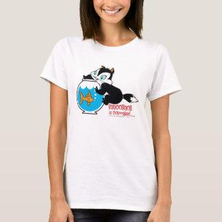 T-shirt Atermoyez l'amusement de bocal à poissons