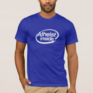 T-shirt Athée à l'intérieur