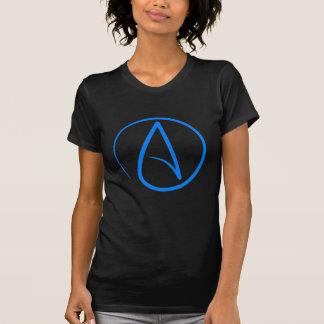 T-shirt Athée bleu A