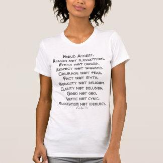 T-shirt Athée fier