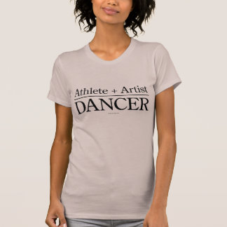 T-shirt Athlète + Artiste = danseur