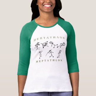 T-shirt Athlétisme de chemise de heptathlon