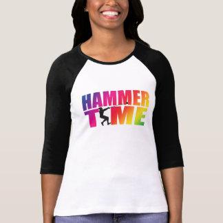 T-shirt Athlétisme de douille de jet de marteau long
