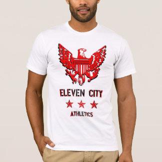 T-shirt Athlétisme d'onze villes