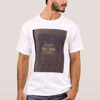 T-shirt Atlas de proximité de New York