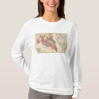 T-shirt Atlas topographique des comtés 6 du Maryland