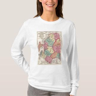 T-shirt Atlas topographique des comtés du Maryland