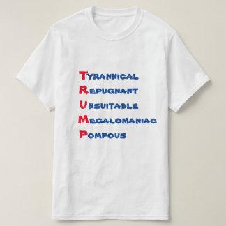 """T-shirt """"ATOUT drôle - T est pour tyrannique """""""