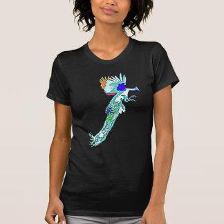 T-shirt Attaque de paon