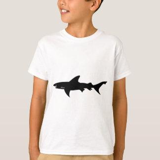 T-shirt Attaque de requin - plongée avec le noir élégant