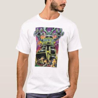 T-shirt Attaque du monstre d'ordinateur