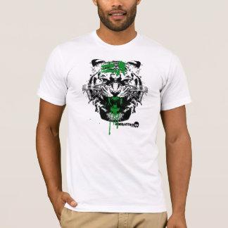 T-shirt Attaque sanglante de tigre