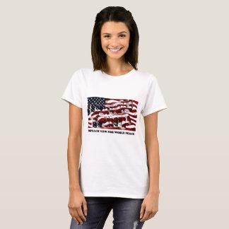 T-shirt Attaquez pour la paix du monde