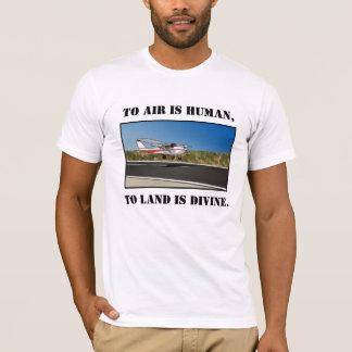 T-shirt Atterrissage divin