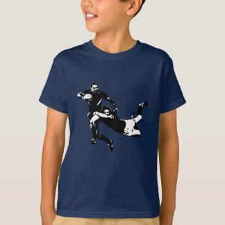 T-shirt Attirail gentil, jeunesse de rugby
