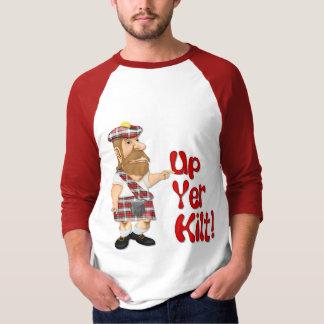 T-shirt Attitude écossaise