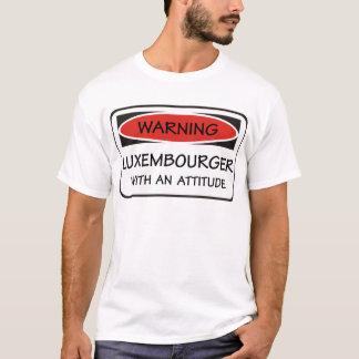 T-shirt Attitude Luxembourgeois