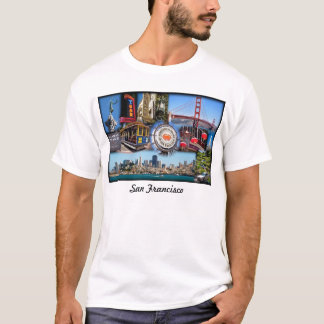 T-shirt Attractions de San Francisco