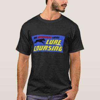 T-shirt Attrait chassant la chemise de dobermann