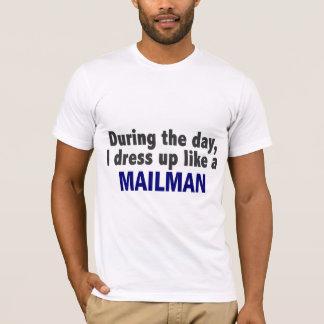 T-shirt Au cours de la journée je m'habille comme un