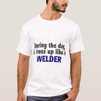 T-shirt Au cours de la journée je m'habille comme une